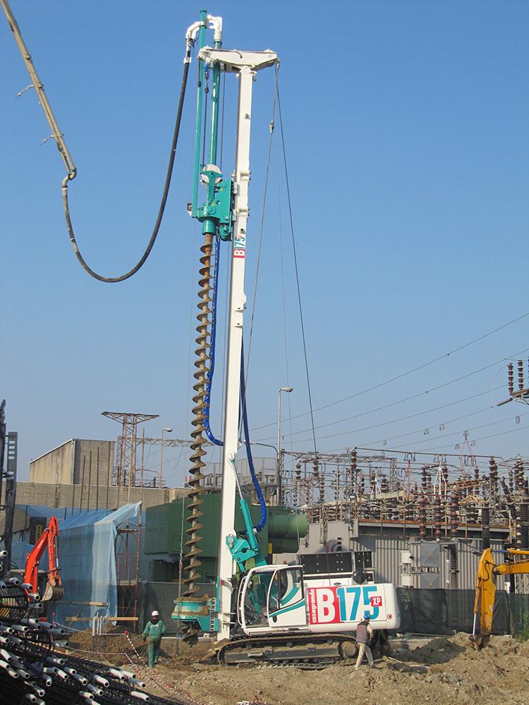 B300xp Hydraulic Piling Rig Casagrande Group [Ground